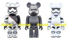 Medicom Be@rbrick Star Wars 100% Captain Phasma Kylo Ren Stormtrooper Bearbrick