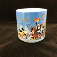 Disney Mickey Coffee Mug Cup Disneyland Resort Paris Collectors Exclusive 2003