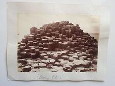 2 Originales Photos  19ème  IRELAND IRLANDE - Giant's Causeway - Dublin