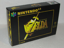 ZELDA OCARINA OF TIME nintendo 64 / box+inlay+bolsita - ENVÍO COMBINADO