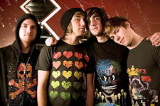 """003 All Time Low - Pop Punk Band Music Stars 21""""x14"""" Poster"""
