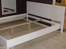 Bett Doppelbett TINGEL 140 x 200 cm, MDF weiß