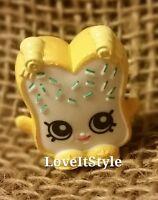 NEW Shopkins Season 1 Fairy Crumbs 1-088 figure Party Food yellow white