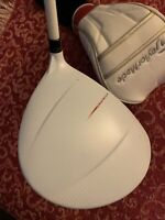 TAYLORMADE  MATTY WHITE DRIVER 10.5 Rh upgrade MATRIX SPEED RULES 50g R Flx 🤩