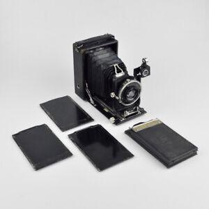 Zeiss Ikon Maximar 107 - alte Plattenkamera - Compur Tessar 1:4,5 f=12cm - 721/3