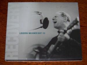 """Recovery"" Loudon Wainwright III *LIKE NEW* 2008 Digipak Blues CD"