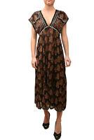 Free People Womens Riakaa OB802175 Dress Relaxed Black combo Black Size XS