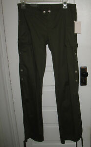 Younique Olive Green Cargo Pants Juniors Size 7 NWT