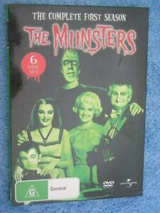 THE MUNSTERS - THE COMPLETE 1ST SEASON - DVD