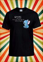 Disney Lilo and Stitch Ohana Cool Men Women Vest Tank Top Unisex T Shirt 1766