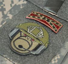 AIR CAVALRY GySgt vel©®Ø Patch: Trunk Monkey Gunnery Sgt GySgt + ASA Flag Tab