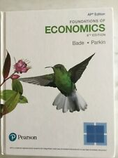 AP Economics - Like New Never Used! Textbook 8th Ed Bade Parkin ISBN0134645588