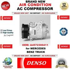 DENSO NEW AIR CONDITION AC COMPRESSOR OEM: A4572300411 for MERCEDES BENZ TRUCK