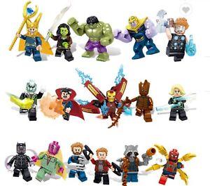 Lego Mini Figurines - Mixed Avengers/Marvel Members