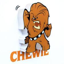 Star Wars 3D Minis Led Deco Lámpara de pared - Chewie