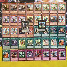 Yugioh Geargia Deck Complete 42 Card Gear Gigant X Geargiarmor Machine Geargiano