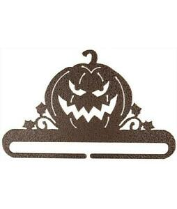 "Ackfeld 8"" Jack O Lantern Copper Split Bottom Fabric Textile Quilt Holder Hanger"