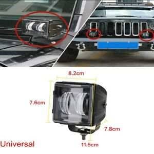 1x 20W LED Spot Light X DRL Turn Signal Waterproof for Off-road motorcycle etc