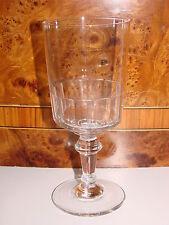 ANCIEN VERRE A PIED EN VERRE / EAU VIN  OLD GLASS (n°3)