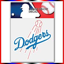 "Los Angeles Dodgers MLB Die Cut Vinyl Sticker Car Bumper Window 4""x3.9"""