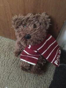 Polo Ralph Lauren Soft Brown Teddy Bear 2003 Plush🐻🐻