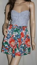 NWT AbERCROMBIE Womens Spring Floral Sun Dress Green Blue L $78
