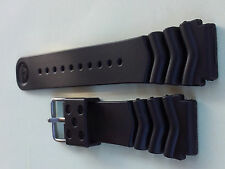 22mm Wave Vent Large Rubber Strap for Diver 6309,7S26,7002,6306,7040