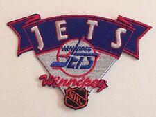 "Winnipeg Jets  Patch 4.25""x2.8""Inch .Sew  On / Iron On"