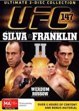 UFC #147: Silva vs Franklin II (2 x Disc DVD Set) BRAND NEW FREE POST!