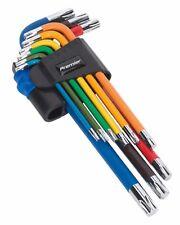TRX-Star Key Set 9pc Colour-Coded Long - Sealey - AK7193