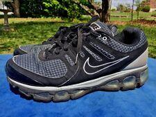 NIKE TAILWIND 2010 Gray White Black PLAID Running Athletic Walk Mens Shoes Sz 10