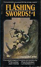 Flashing Swords! #1 Poul Anderson, Jack Vance, Fritz Leiber ed Lin Carter SALE