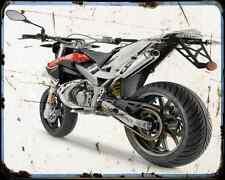 Aprilia Sx 50 15 03 A4 Metal Sign Motorbike Vintage Aged