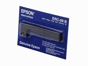 10 X Original Epson ERC-09B Ribbon Black C43S015354 ERC09B