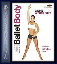 BALLET BODY CORE WORKOUT - DEFINE & FLATTEN ABS ***BRAND NEW DVD***