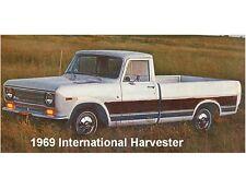 1969 International Harvester Truck Refrigerator / Tool Box Magnet Gift Item