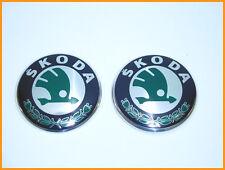 SKODA SUPERB 2008-2013 SET OF 2, FRONT / REAR BADGE EMBLEM 3T0853621A