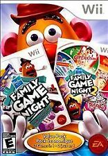 Hasbro Family Game Night Value Pack (Nintendo Wii, 2010) Free Shipping