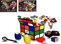 Rubik Cube Amazing 50 Magic Trick Set Ages 8+ Toy Play Build Paper Ball Gift Set