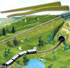 13,01€/m) BUSCH 8430 N, 2 Stück Flexible Auffahrten, Bahndammauffahrt, 92 cm lg.