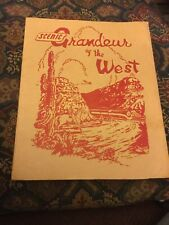 Scenic Grandeur of the West ~ 1943 - 16 Color Views by Southern Pacific Lines