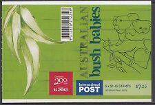 Australia 2009 Bush Babies Koala International Gen Booklet ($7.25) - B427a