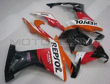 Orange Red Black Injection Mold Fairing Plastic for Honda 2013-2014 CBR500R  aAC