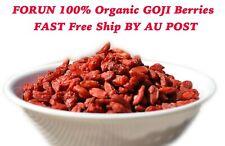 FORUN Organic Dry Goji Berries (Big Fat Juicy) -Free Fast Ship By AU POST