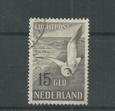 Nederland  LP12 Luchtpost 15Gld  VFU/gebr  CV 125 €  PRACHT !!