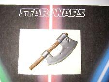 Star wars vintage arme repro weapon Gamorrean guard