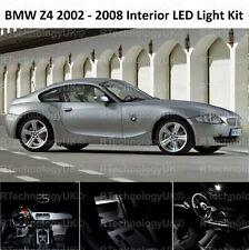 PREMIUM BMW E85 E86 COUPE Z4 2002 -2008 INTERIOR FULL KIT SET BULBS XENON WHITE