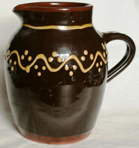 Vintage Large Studio Pottery Jug - Unknown - Eric Leaper or S. Saint Leger