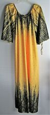 Nightgown Lounge Hostess Gown 3/4 Butterfly Sleeves Vtg New with Tag