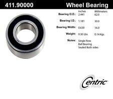 Axle Shaft Bearing-C-TEK Standard Bearings Rear Inner Centric 411.90000E